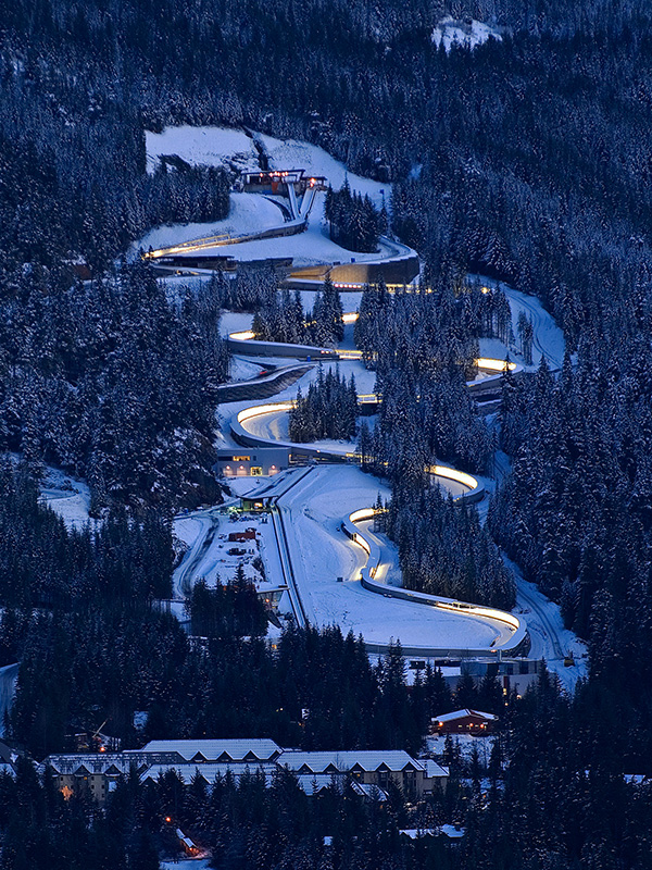 Whistler Sliding Center